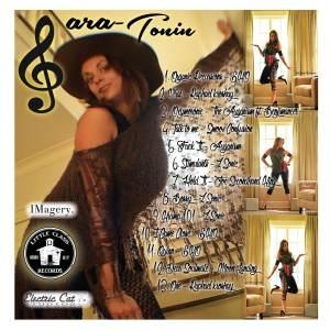 Sara tonin Back Cd Album Art 2015