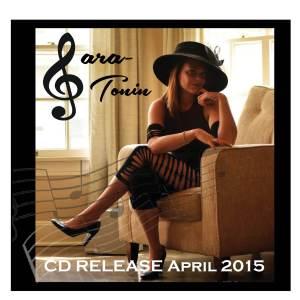 Sara tonin Front Cd Album Art 2015